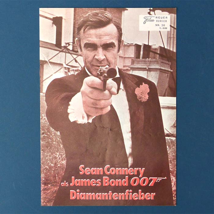 James Bond 007 - Diamantenfieber, Filmprogramm