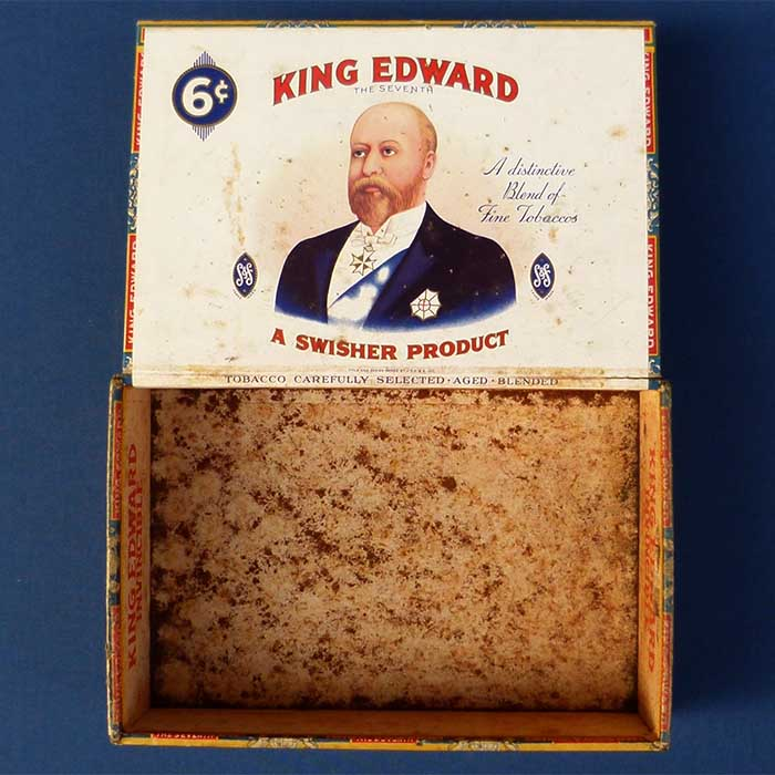 King Edward - Mild Tobaccos, Zigarrenkiste