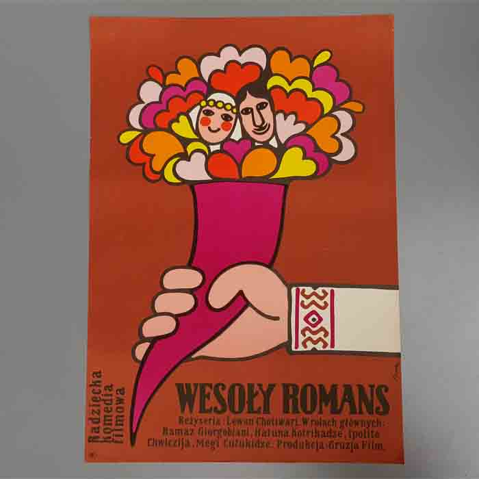 Wesoly Romans, Cheerful Romance, Filmplakat, Original