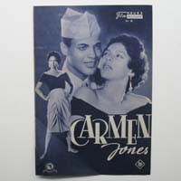 Carmen Jones, Harry Belafonte, Filmprogramm